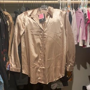 Champagne colored blouse
